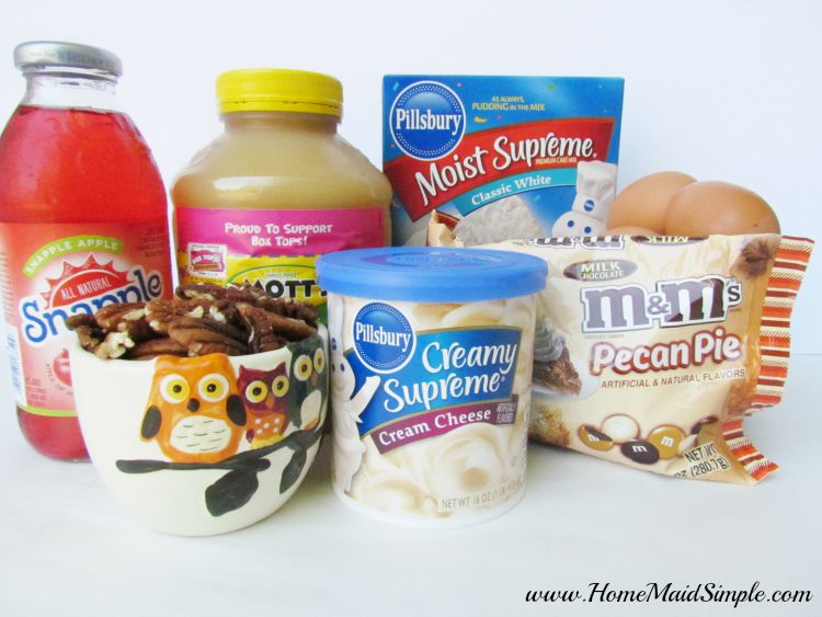 Pecan Apple Trifle ingredients #BakeInTheFun ad