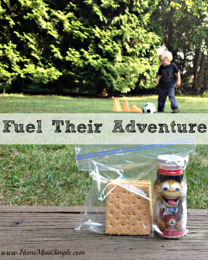 Fuel their adventure with Dannon® Danimals® Smoothies on the go snack pack. #FuelTheirAdventures ad