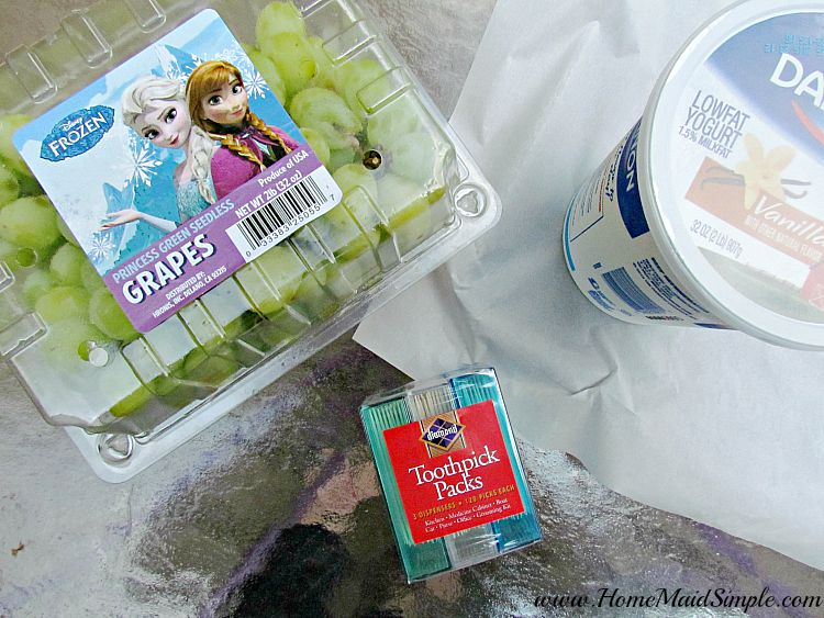 FROZEN Grapes are a favorite after school treat. ad