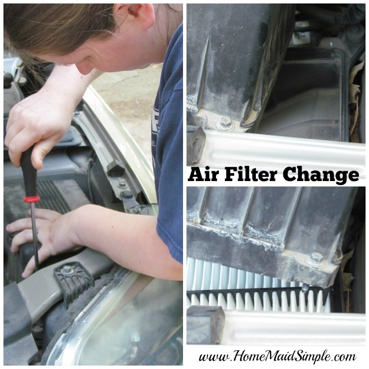 Air Filter Change #DIYOilChange ad #cbias