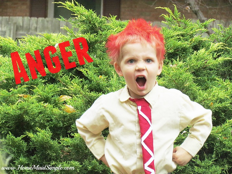 DIY Inside Out: Anger Costume