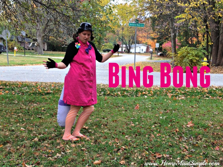 DIY Inside Out: Bing Bong Costume