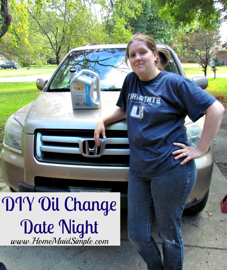 DIY Oil Change for Date Night! #DIYOilChange ad #cbias