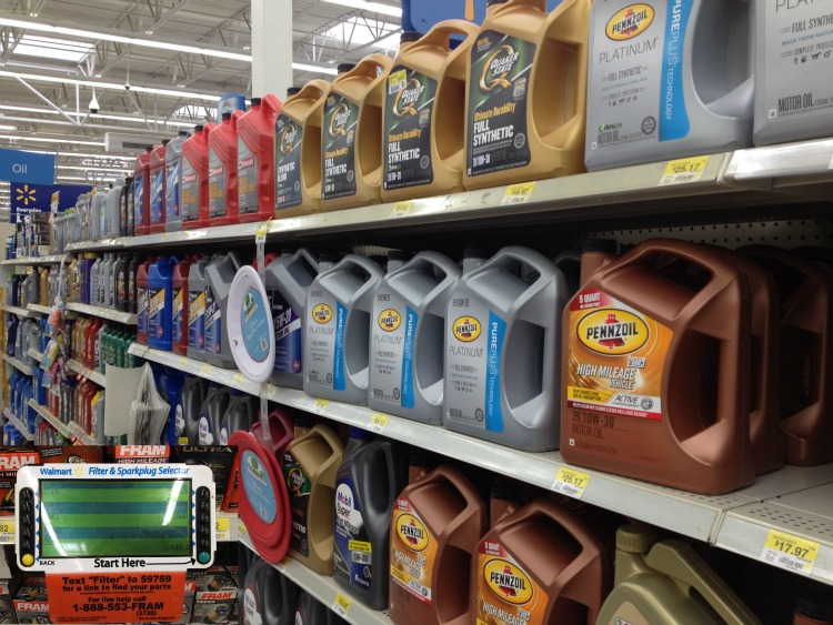 Pennzoil at Walmart #DIYOilChange ad #cbias