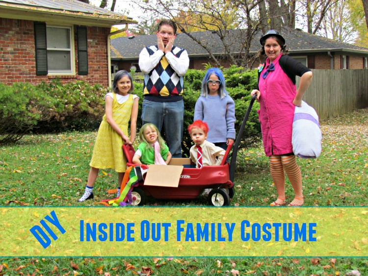 DIY Inside Out Family Costumes