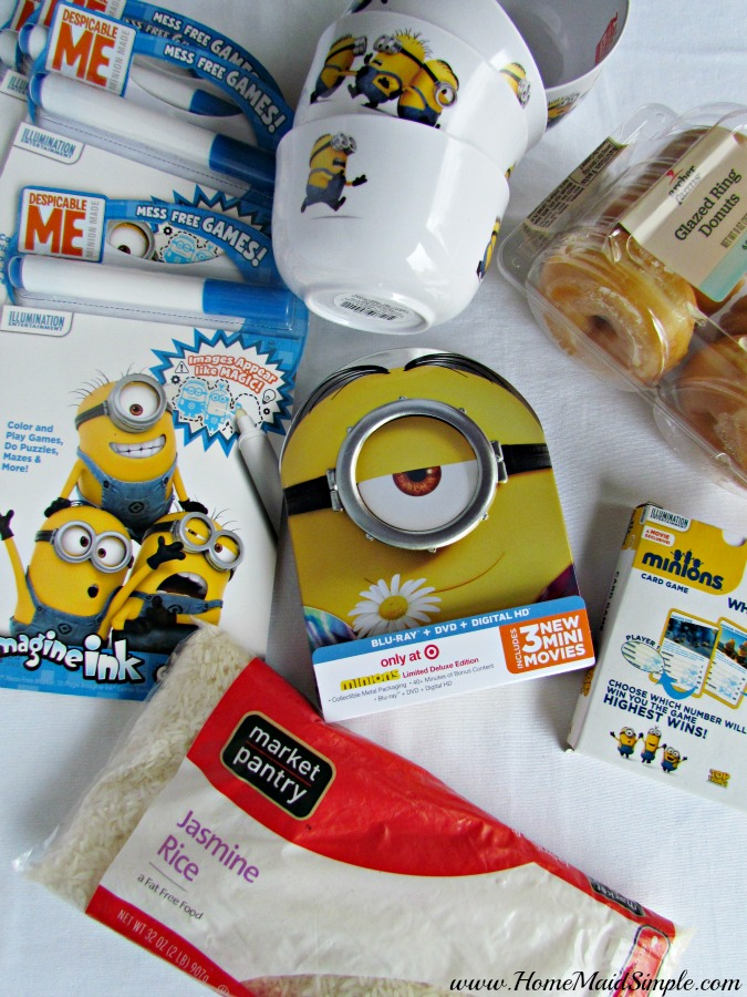 Everything you need for a Minions Movie Night at Target #ad #MinionsMovieNight
