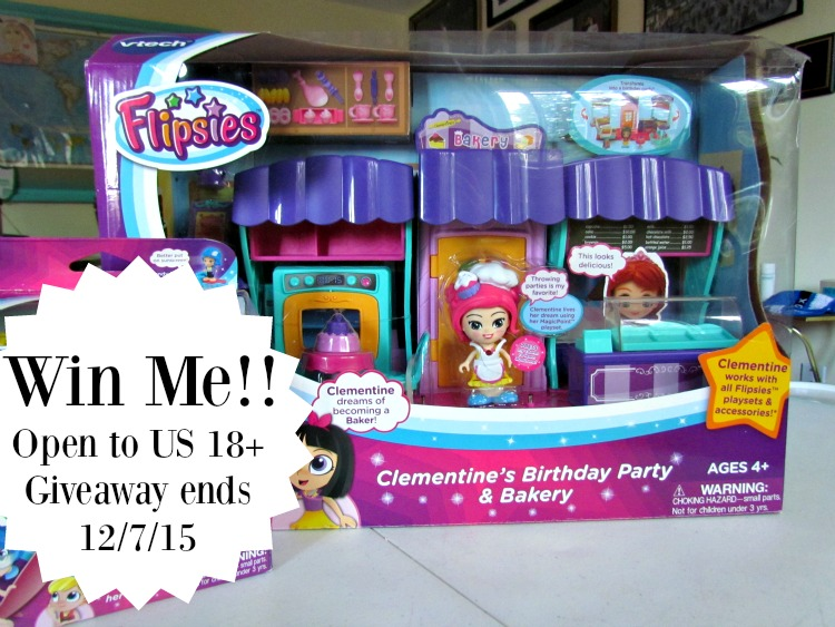 Teaching Kids to Follow their Dreams with VTEch Flipsies + Win a Flipsies Clementine Birthday Party and Bakery Set