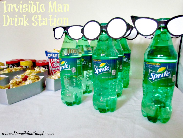 Invisible Man Drink Station for Hotel Transylvania 2 #MakeItAMovieNight ad