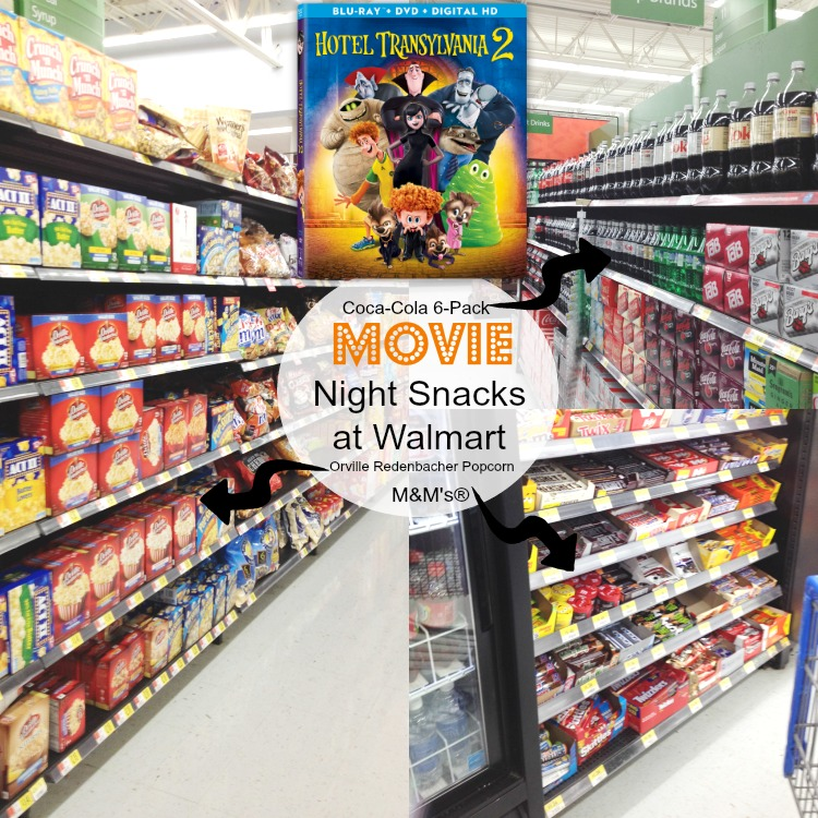 Hotel Transylvania 2 Movie night at Walmart #MakeItAMovieNight #ad