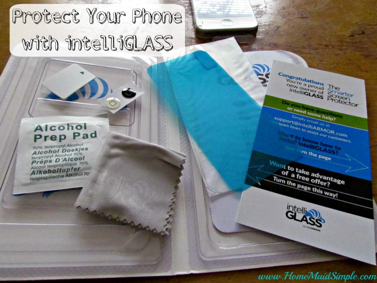 Protect your phone with intelliGLASS