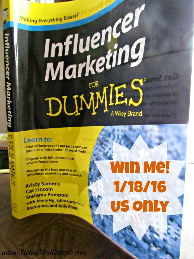 WIN Influencer Marketing for Dummies