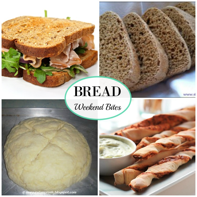 Weekend Bites Recipe Link Up featuring Breads!