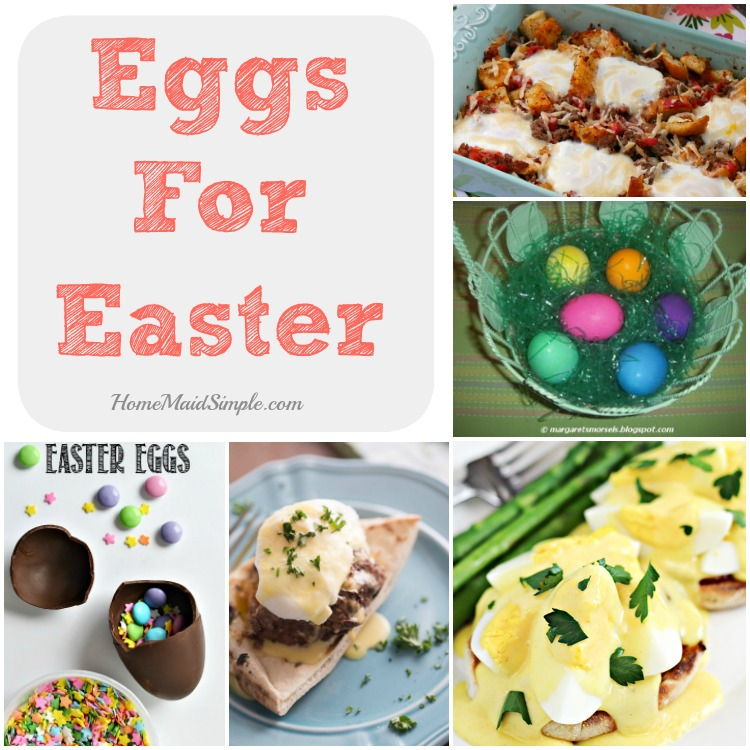 Love these unique egg recipes on Weekend Bites! Share your favorite recipes in the link party