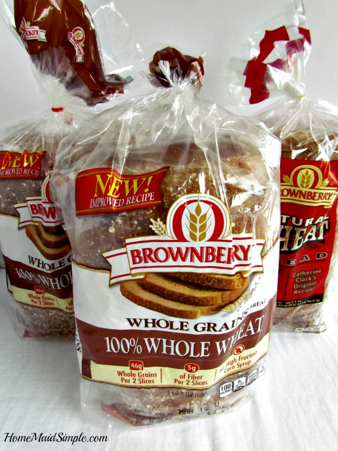 Check out the new Brownberry® Whole Grains 100% Whole Wheat bread