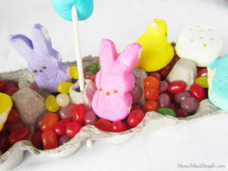 Grow a PEEPS® Garden with Mike and Ike® Jellybeans and PEEPS®