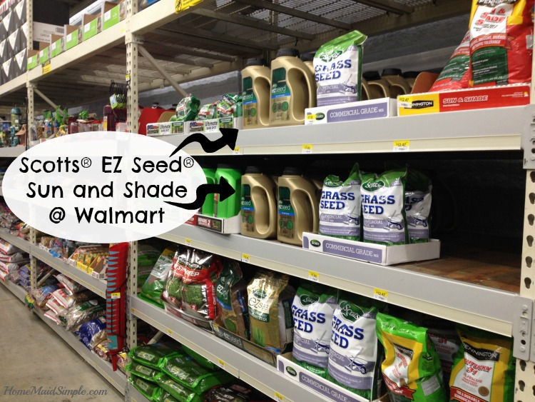 Find Scotts® EZ Seed® Sun and Shade at Walmart #LoveYourLawn #ad