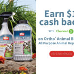 $1 Cash Bask with Ortho® Animal B Gon® Animal Repellent and Checkout 51
