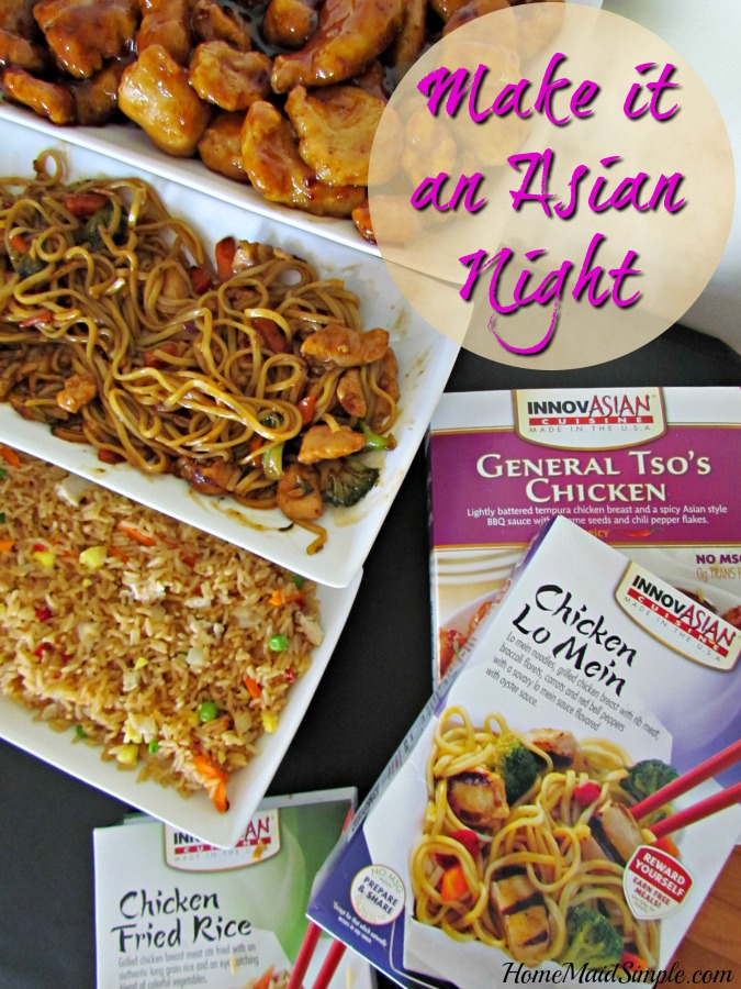 Introduce your family to a new cuisine with InnovAsian, and make it a full experience! #NoTakeOutNeeded ad