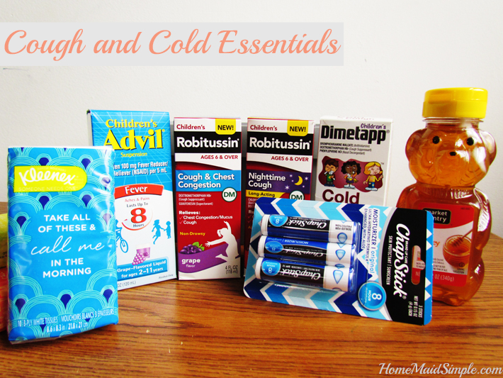 Don't forget these Cough and Cold Essentials from Pfizer Pediatric. ad