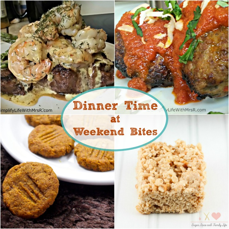 Dinner Time features at Weekend Bites