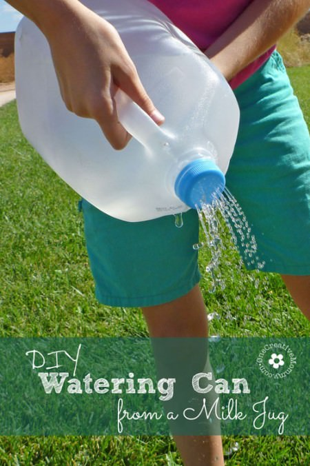 DIY Watering Can from One Creative Mommy