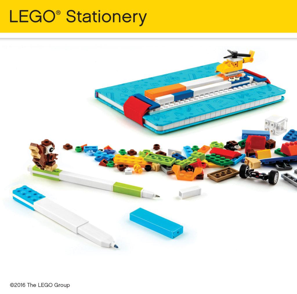 LEGO and Santoki Stationary #LEGOStationary ad