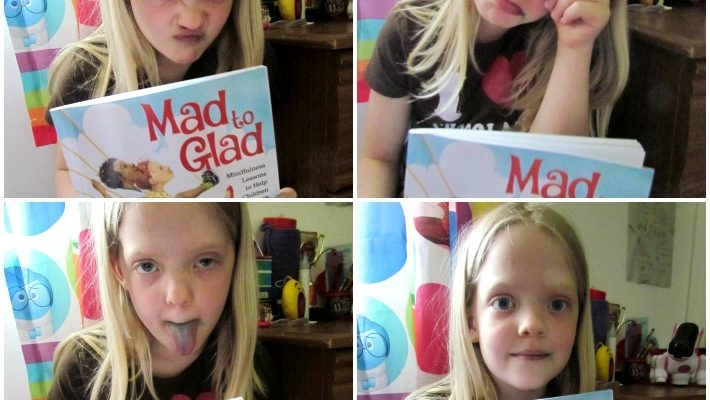 Book Review: Mad to Glad by Angie Harris