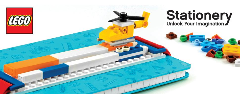 LEGO Stationary from Santoki, LLC #LEGOStationary ad