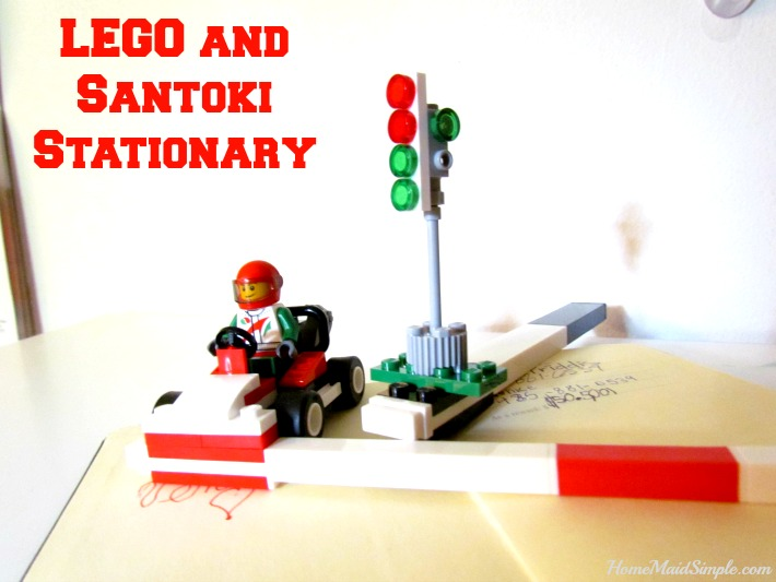 Check out the new LEGO Stationary from Santoki #LEGOStationary ad