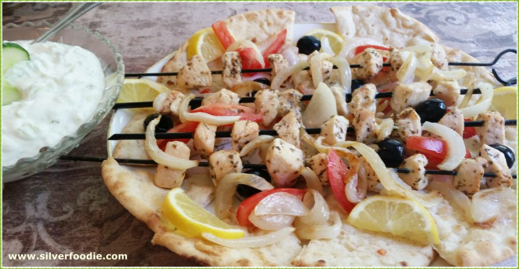 Chicken Souvlaki from Silver Foodie