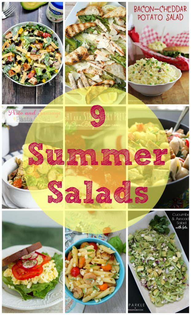 9 simply refreshing Summer Salads from Weekend Bites. Share your recipes with us now!