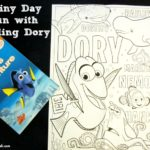 Dory's Adventure Poster-a-page Book Giveaway