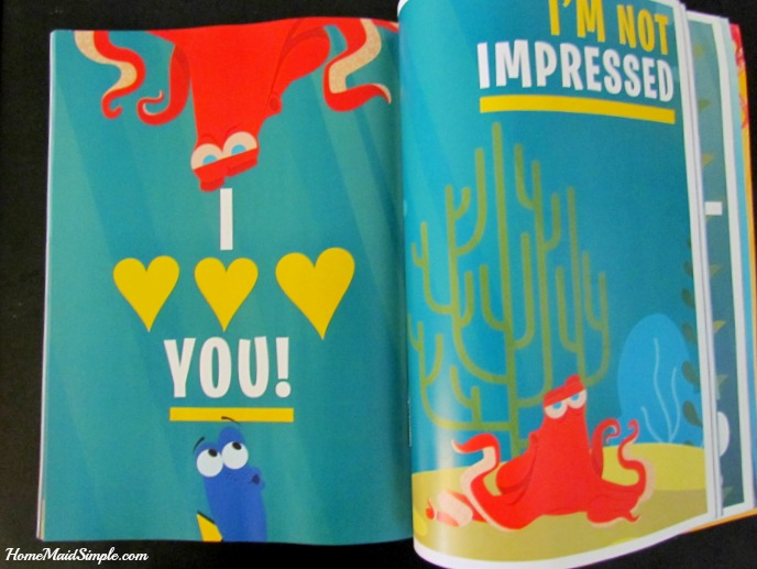 Dory's Adventure by Time Inc. has 112 pages of posters! ad