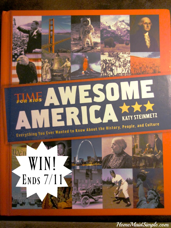 Win a copy of Awesome America from Time Inc.