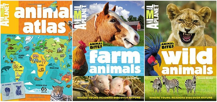 Check out the Animal Planet Collection of books. ad