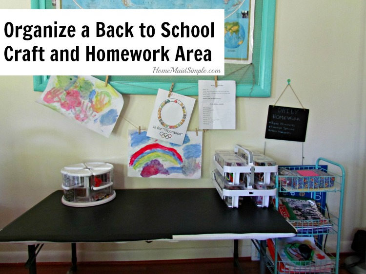 Organize back to school with tool from Deflect-o and Shoplet. ad