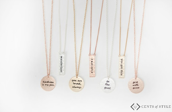 Check out all the Tribe Necklaces from Cents of Style. Who's in your tibe? #ad