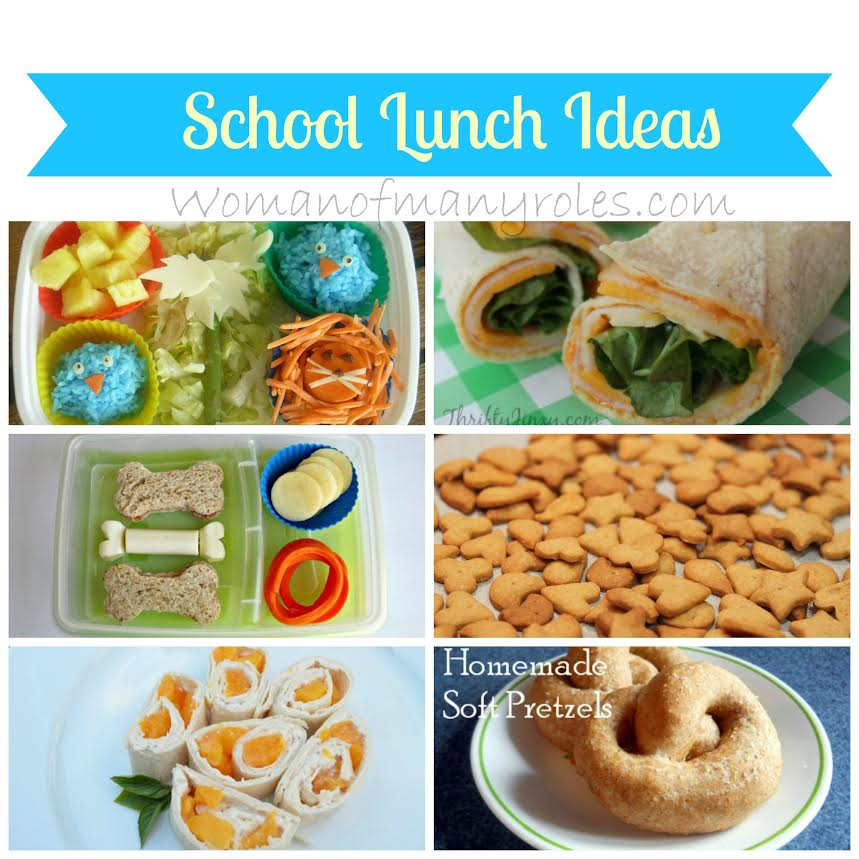 Back to school lunch ideas from Woman of Many Roles