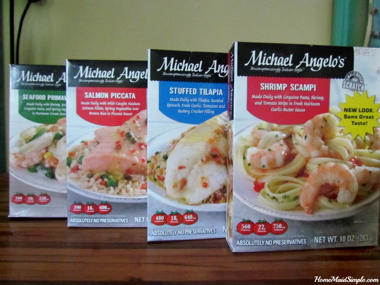 Which Michael Angelo's new Seafood Meal would you try first? ad