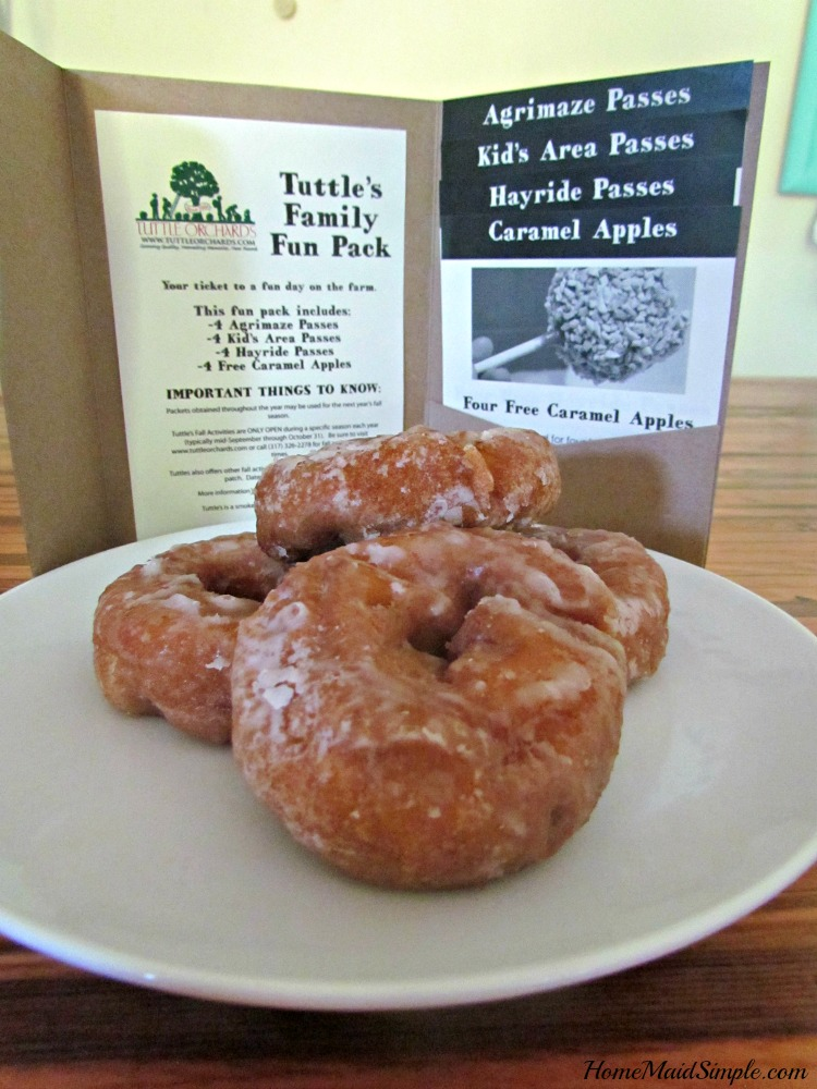 Win a family of 4 pack to Tuttle Orchards.