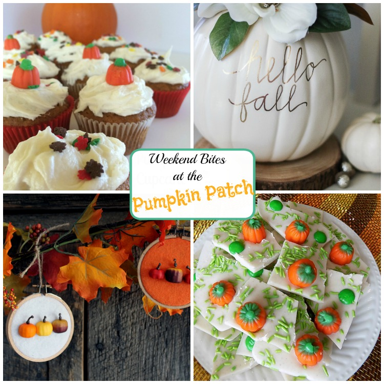 Weekend Bites party at the Pumpkin Patch! Come share your links with us