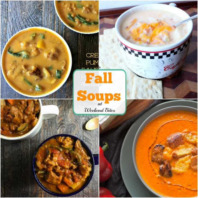 Try one of these Fall Soups tonight! Yum!