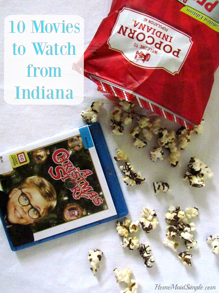 10 movies to watch from Indiana while eating Popcorn, Indiana® ad