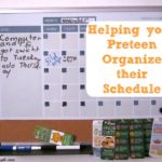Help Your Preteen Organize Their Schedule with Mastervision