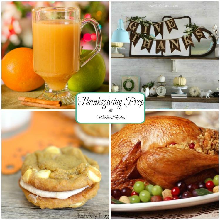 Thanksgiving Prep at Weekend Bites