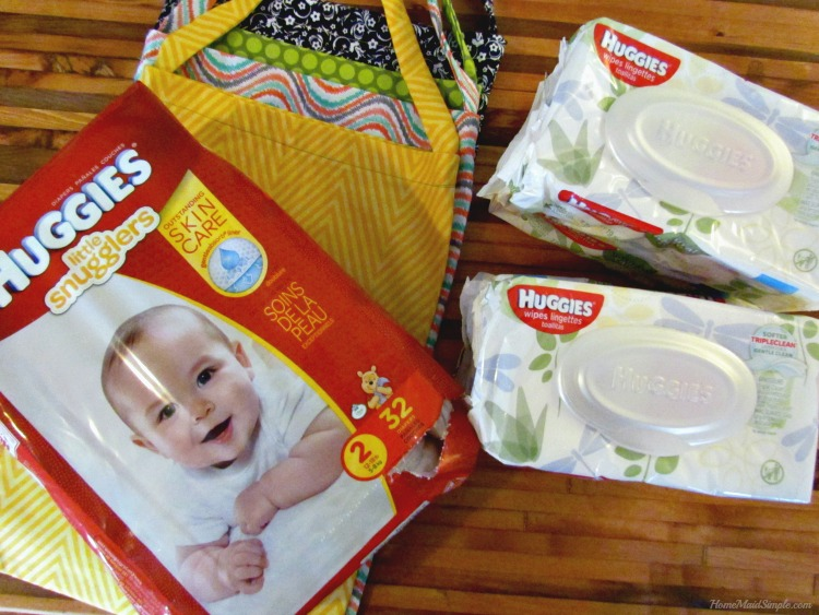No Baby Unhugged with Huggies Diapers and Wipes purchased at Meijer. ad #NoBabyUnhuggedCB