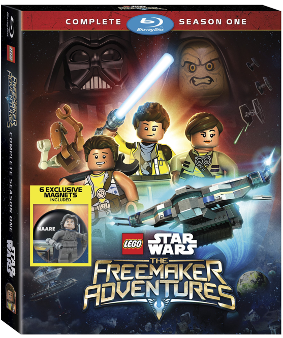 LEGO Star Ward The Freemaker Adventures with exclusive magnets.