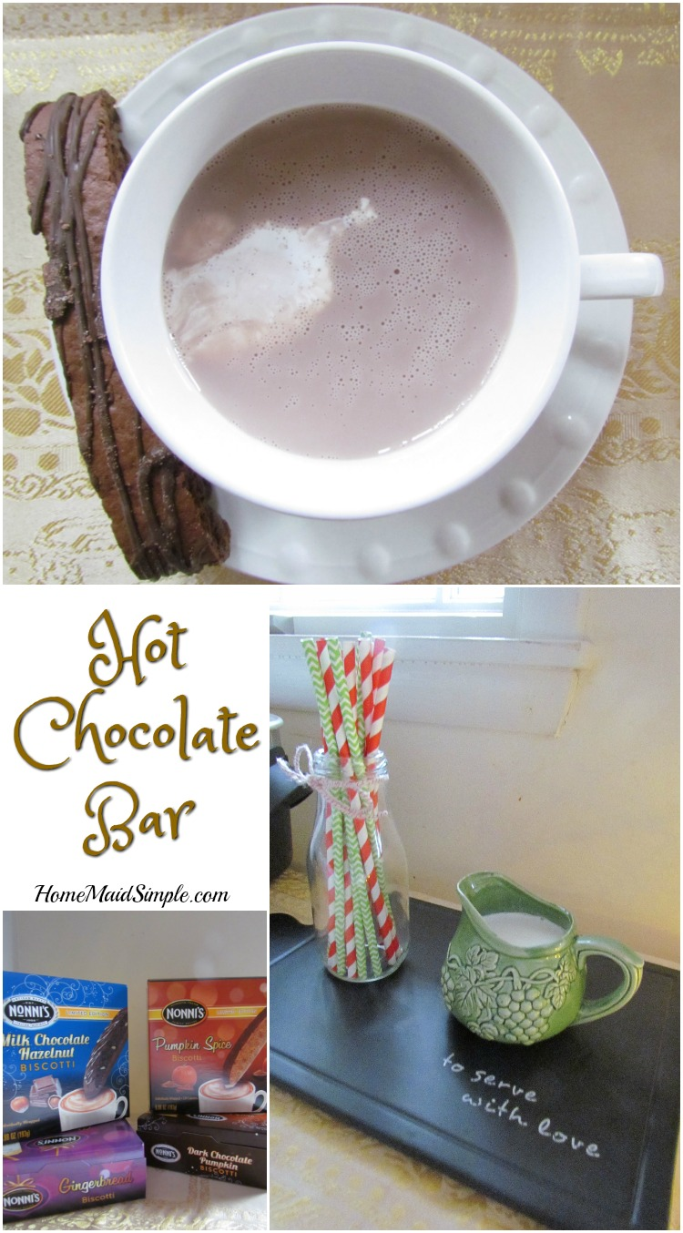 Everything you need for the perfect Hot chocolate Bar. ad