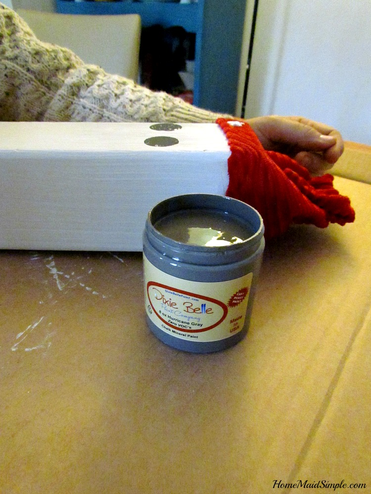 Spruce up your winter decor with Dixie Belle Paints. ad