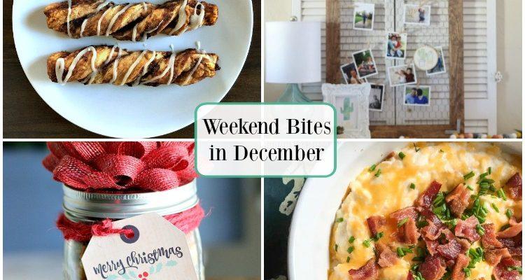 Weekend Bites December Inspiration